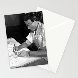 Women in Science, Hidden Figure: Katherine Johnson Stationery Cards
