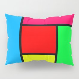 Lack of Talent Abstract #1 Pillow Sham