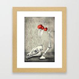 Cerasus Domestica Framed Art Print