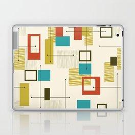 Mid Century Modern, Sputnik Pattern Laptop & iPad Skin