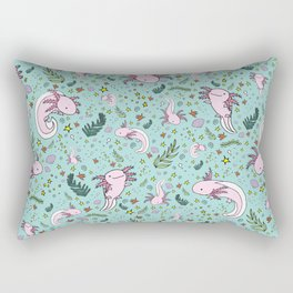 Axolotl Rectangular Pillow