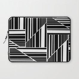 STRIPED PATCHWORK Laptop Sleeve