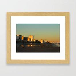 Skyline Evening Framed Art Print