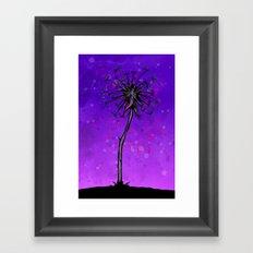 Dandelion Tree Framed Art Print