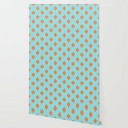 Eternity knot pattern Wallpaper