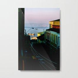 Valparaiso, Chile. Metal Print