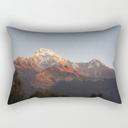 Annapurna Massif Rectangular Pillow