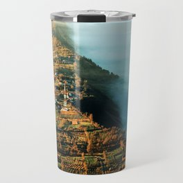 The City at the Edge of Clouds Travel Mug