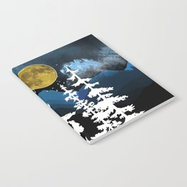 Full Moon Rising II Notebook