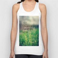 jane austen Tank Tops featuring Agony and Hope Jane Austen by KimberosePhotography