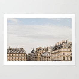Once in Paris Art Print