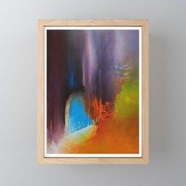 L arrivée du printemps en MornDor Framed Mini Art Print