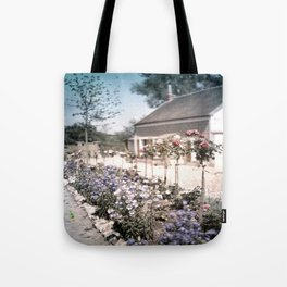 Vintage Garden Tote Bag