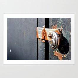The Lock Art Print