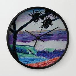 VUE SUR MER Wall Clock