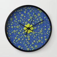 fallout Wall Clocks featuring Fallout 4 Vault 111  by LONEWLF