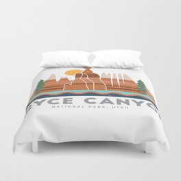 Bryce Canyon National Park Utah Graphic Duvet Cover