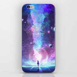 Starry Rupture iPhone Skin