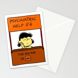 Lucy: The Doctor Is In Stationery Cards