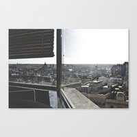 madrid Canvas Prints featuring Madrid by nmaquieira