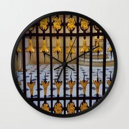 Grand théâtre de Bordeaux 5- Gate inside the opera house Wall Clock