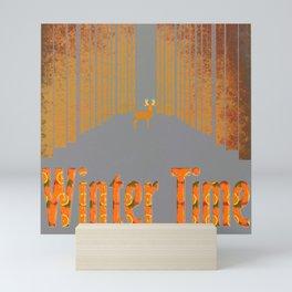 Winter time 3 Mini Art Print