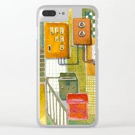 Tong Lau (Hong Kong Shop House) Clear iPhone Case