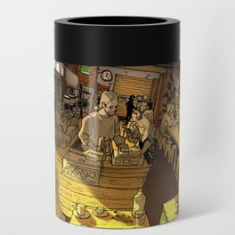Monk bodhi dharma Can Cooler