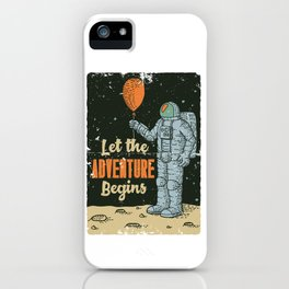 Let The Adventure Begins iPhone Case