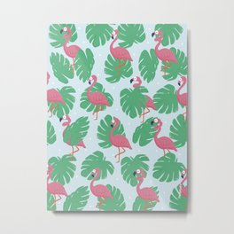Tropical pattern 2 Metal Print
