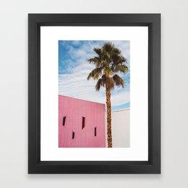 Palm Springs Vibes Framed Art Print