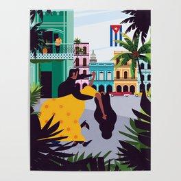 Havana ft. Salsa Dancers Poster