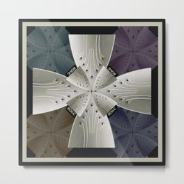 Iron Cross Ironic Cross Metal Print