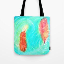 Fire and the Flood Tote Bag