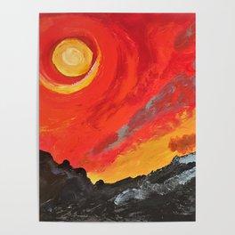 The eternal firey Sun Poster