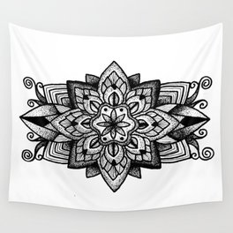 Mandala Curley Wall Tapestry