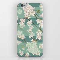 sakura iPhone & iPod Skins featuring Sakura by Maria Durgarian
