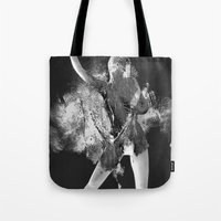 erotic Tote Bags featuring Goddess Erotic by Liaison Érotique