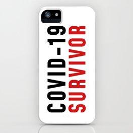 I'M A SURVIVOR iPhone Case