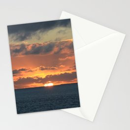 Heavenly Sunset Stationery Cards