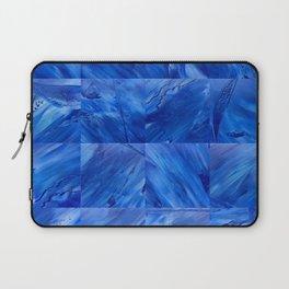 blues en tous sens / square blues Laptop Sleeve