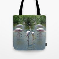 lovers Tote Bags featuring Lovers by CrismanArt