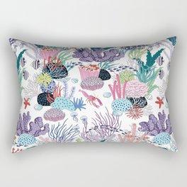 underwater pattern Rectangular Pillow