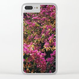 Bougainvilleas Clear iPhone Case