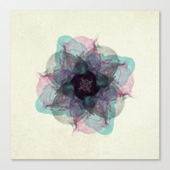 Devil's flower Canvas Print