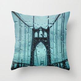 St. Peters Bridge Throw Pillow