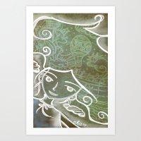 Air Deity Art Print