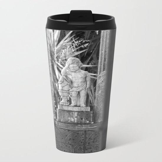 Statue Metal Travel Mug