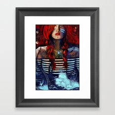 NEIRED (TWO) Framed Art Print