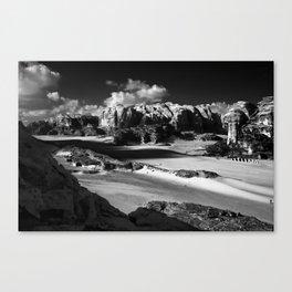 Untitled: Wadi Rum Canvas Print